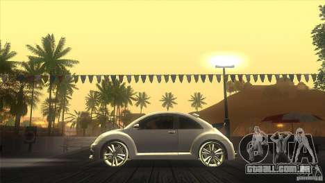 Volkswagen Beetle Tuning para GTA San Andreas esquerda vista