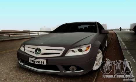 Mercedes-Benz C180 para GTA San Andreas