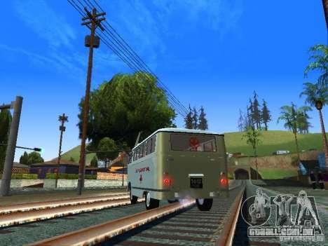 RAPH-977IM emergência para GTA San Andreas traseira esquerda vista