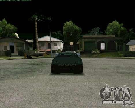 Supergt - Police S para GTA San Andreas esquerda vista