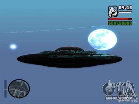 UFO para GTA San Andreas esquerda vista