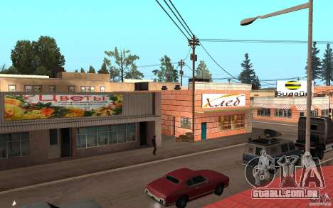Atualizado Palomino Creek para GTA San Andreas segunda tela
