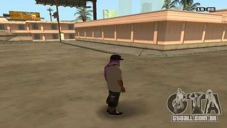 Skin Pack Ballas para GTA San Andreas segunda tela