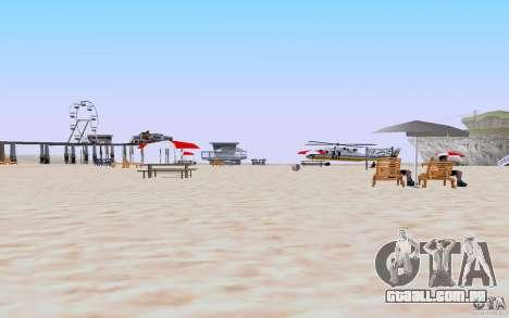 Reality Beach v2 para GTA San Andreas segunda tela