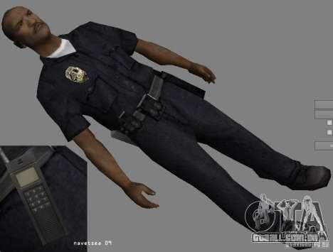Reteksturizaciâ personagens para GTA San Andreas sexta tela