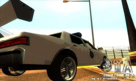 Police Hero v2.1 para GTA San Andreas vista traseira