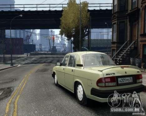 Volga GAZ 3110 para GTA 4 vista interior