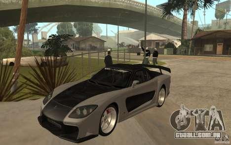 Mazda RX 7 VeilSide Fortune v.2.0 para GTA San Andreas