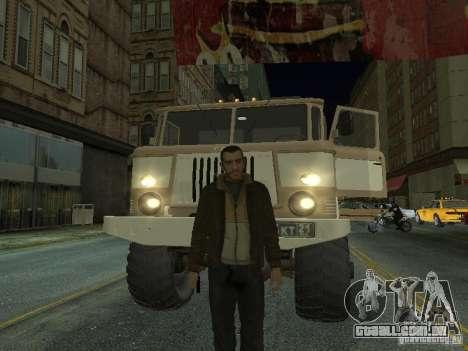 GAZ 66 Parade para GTA San Andreas esquerda vista