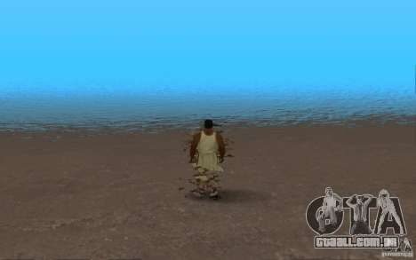 ENB Realistic Water para GTA San Andreas por diante tela