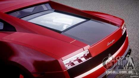 Lamborghini Gallardo LP570-4 Superleggera 2011 para GTA 4 vista inferior