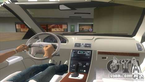 Volvo XC90 para GTA Vice City vista traseira esquerda