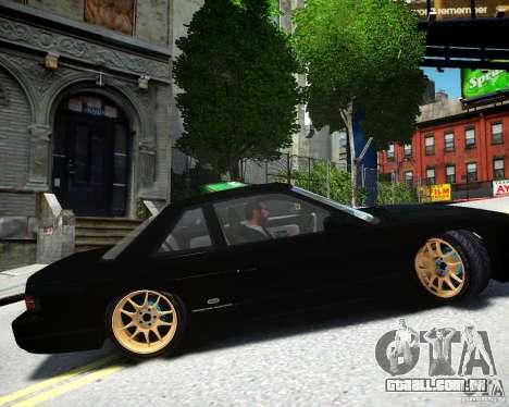 Nissan Silvia S13 para GTA 4 esquerda vista