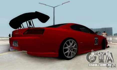 Nissan Silvia S15 Tunable para as rodas de GTA San Andreas