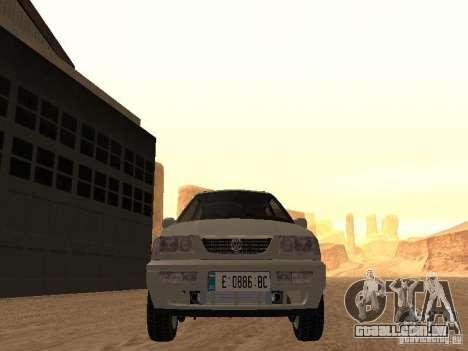 Volkswagen Passat B4 para GTA San Andreas vista interior