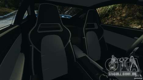 Porsche 997 GT2 para GTA 4 vista interior