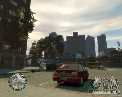 Daewoo Nexia DOHC para GTA 4 traseira esquerda vista