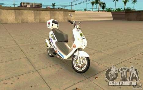 Suzuki Addres para GTA San Andreas