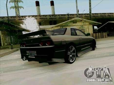 Nissan Skyline GTS-T para GTA San Andreas traseira esquerda vista