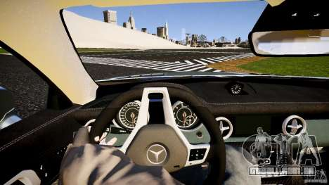 Mercedes-Benz SLK 2012 para GTA 4 vista interior