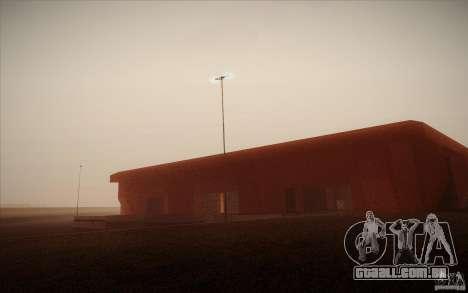 New SF Army Base v1.0 para GTA San Andreas sexta tela