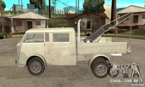 Tempo Matador 1952 Towtruck version 1.0 para GTA San Andreas esquerda vista