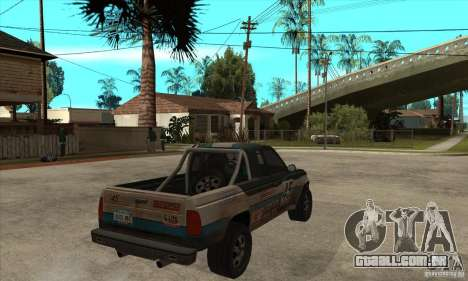 Nevada from FlatOut 2 para GTA San Andreas vista direita