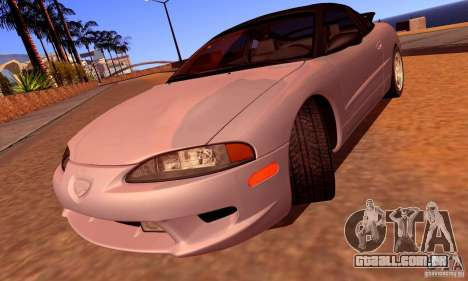 Eagle Talon TSi AWD 1998 para GTA San Andreas vista superior