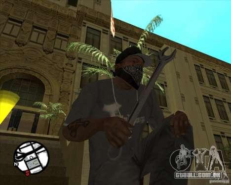 Chave inglesa para GTA San Andreas