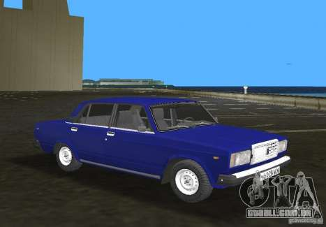 Carro LADA 2107 VAZ para GTA Vice City