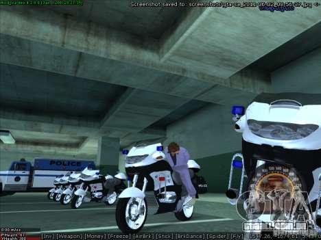 CopBike para GTA San Andreas vista direita