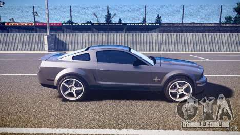 Shelby GT500kr para GTA 4 vista lateral