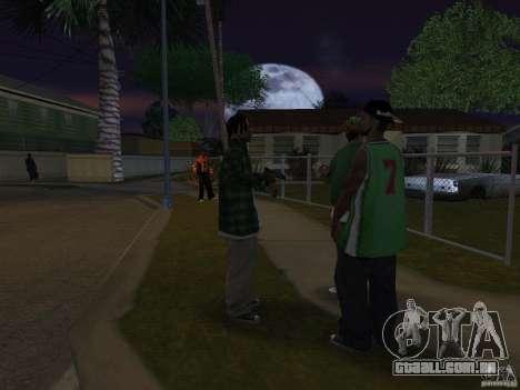 Pak versão doméstica armas 4 para GTA San Andreas sexta tela