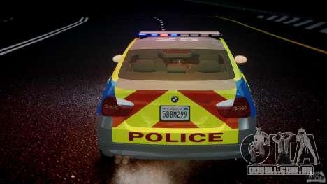 BMW 350i Indonesian Police Car [ELS] para GTA 4 motor