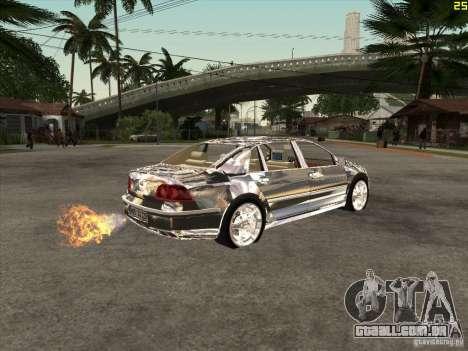 Cromado Volkswagen Phaeton para GTA San Andreas vista direita