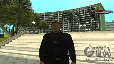 Oficial de polícia para GTA San Andreas
