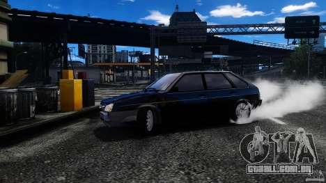 VAZ 2109 Drift Turbo para GTA 4 vista superior