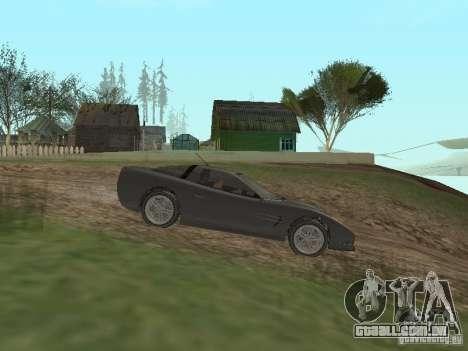 Chita de GTA 4 para GTA San Andreas esquerda vista