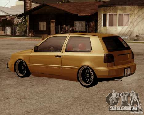 VW Golf MK 4 low & slow para GTA San Andreas esquerda vista