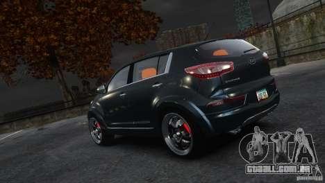Kia Sportage 2010 v1.0 para GTA 4 esquerda vista