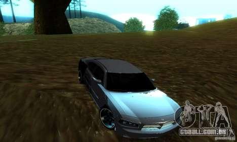Dodge Charger SRT8 Mopar para GTA San Andreas vista direita
