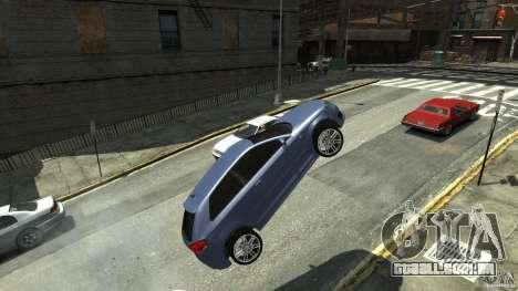 Audi S3 2006 v 1.1 tonirovanaâ para GTA 4 vista de volta