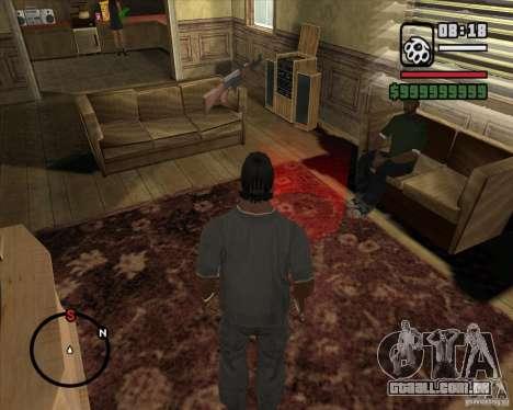 Greetings 2U: GS para GTA San Andreas quinto tela