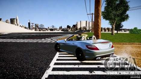 Mercedes-Benz SLK 2012 para GTA 4 vista direita