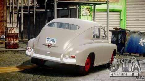 GÁS M20V ganhar americano 1955 v 1.0 para GTA 4 vista superior