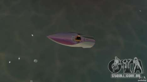 Bugatti Sang Bleu Speedboat para GTA Vice City vista direita