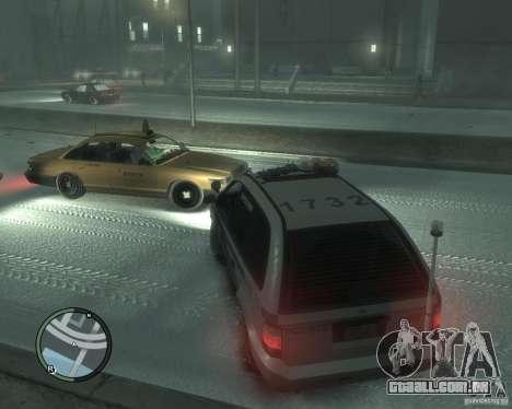LCPD Minivan para GTA 4 traseira esquerda vista