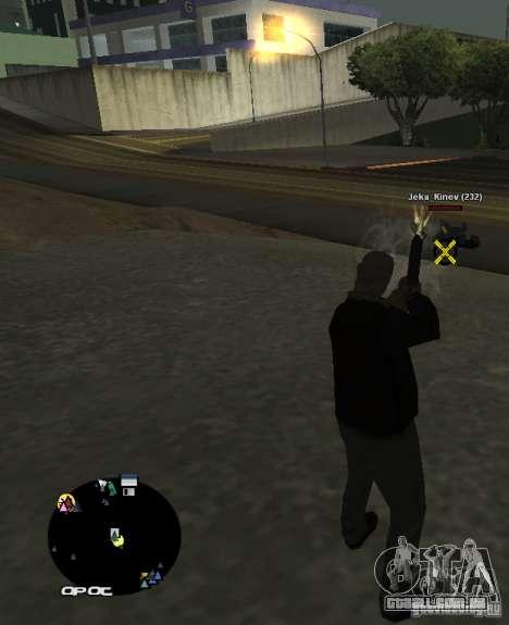 HUD №2 para GTA San Andreas