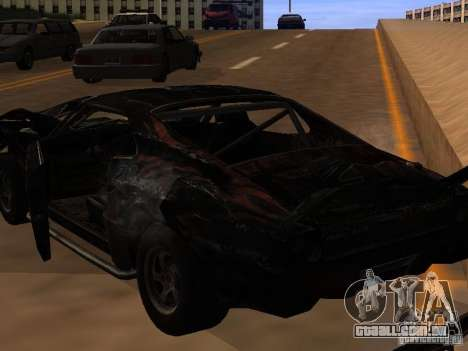 Car from FlatOut 2 para GTA San Andreas vista interior