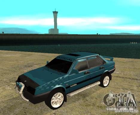 Melodia de sparco 21099 VAZ para GTA San Andreas